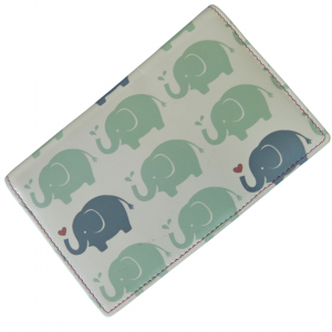 leather rfid elephant purse