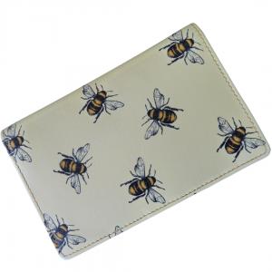 leather bee rfid purse