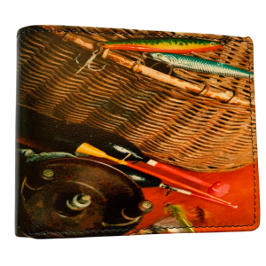 FISHING LEATHER WALLET