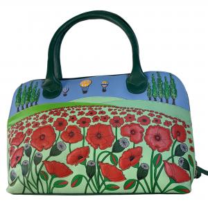 mala leather poppy bag