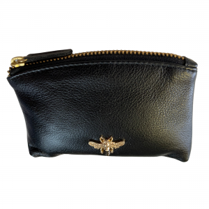 leather emvy bee coin urse